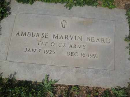 BEARD, AMBURSE MARVIN - Pinal County, Arizona | AMBURSE MARVIN BEARD - Arizona Gravestone Photos