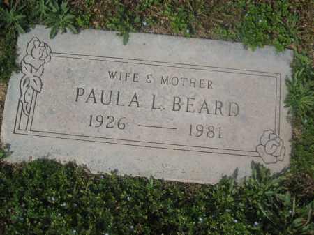 BEARD, PAULA L. - Pinal County, Arizona | PAULA L. BEARD - Arizona Gravestone Photos
