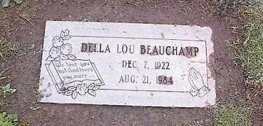 BEAUCHAMP, DELLA LOU - Pinal County, Arizona | DELLA LOU BEAUCHAMP - Arizona Gravestone Photos