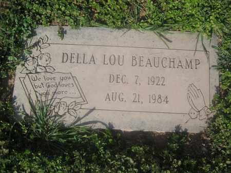 BEAUCHAMP, DELLA LOU - Pinal County, Arizona | DELLA LOU BEAUCHAMP - Arizona Gravestone Photos