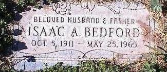 BEDFORD, ISAAC A. - Pinal County, Arizona | ISAAC A. BEDFORD - Arizona Gravestone Photos