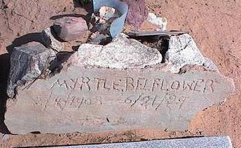 BELFLOWER, MYRTLE - Pinal County, Arizona | MYRTLE BELFLOWER - Arizona Gravestone Photos