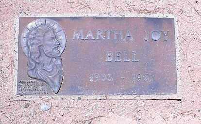 BELL, MARTHA JOY - Pinal County, Arizona | MARTHA JOY BELL - Arizona Gravestone Photos