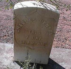 BENSON, CHARLES - Pinal County, Arizona | CHARLES BENSON - Arizona Gravestone Photos