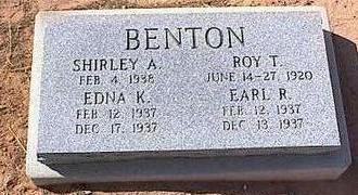 BENTON, SHIRLEY A. - Pinal County, Arizona | SHIRLEY A. BENTON - Arizona Gravestone Photos