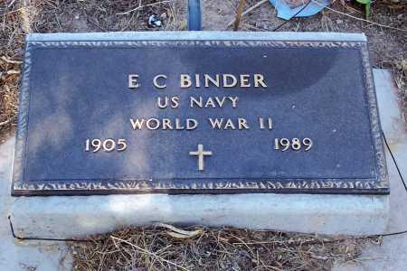 BINDER, E. C. - Pinal County, Arizona   E. C. BINDER - Arizona Gravestone Photos