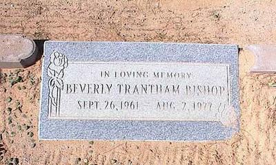 TRANTHAM BISHOP, BEVERLY - Pinal County, Arizona | BEVERLY TRANTHAM BISHOP - Arizona Gravestone Photos