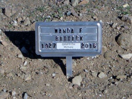 MARSHALL BITTICK, WANDA FERN - Pinal County, Arizona | WANDA FERN MARSHALL BITTICK - Arizona Gravestone Photos