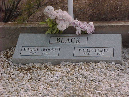 BLACK, WILLIS ELMER - Pinal County, Arizona | WILLIS ELMER BLACK - Arizona Gravestone Photos