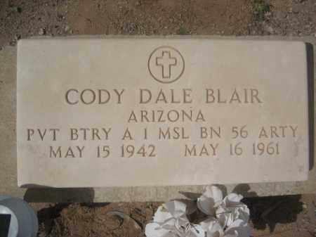 BLAIR, CODY DALE - Pinal County, Arizona | CODY DALE BLAIR - Arizona Gravestone Photos