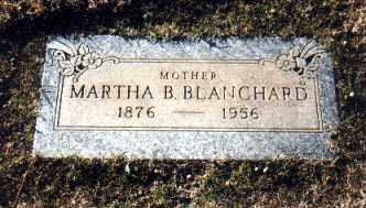 BLANCHARD, MARTHA BELLE - Pinal County, Arizona | MARTHA BELLE BLANCHARD - Arizona Gravestone Photos