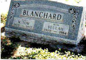 BLANCHARD, WILLIAM THOMAS - Pinal County, Arizona | WILLIAM THOMAS BLANCHARD - Arizona Gravestone Photos