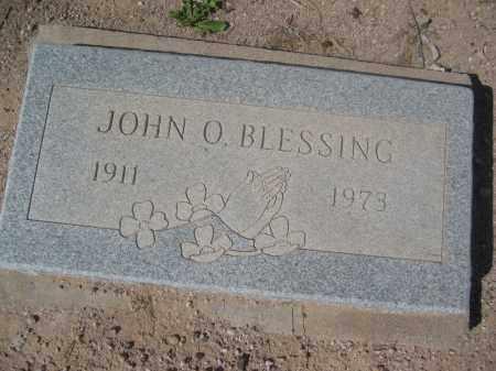 BLESSING, JOHN O. - Pinal County, Arizona   JOHN O. BLESSING - Arizona Gravestone Photos