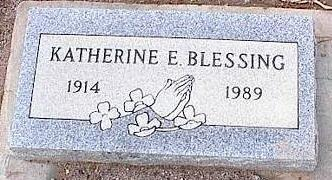 BLESSING, KATHERINE - Pinal County, Arizona | KATHERINE BLESSING - Arizona Gravestone Photos