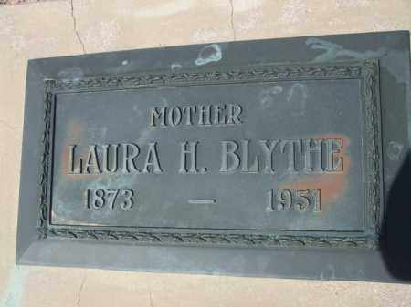 BLYTHE, LAURA H. - Pinal County, Arizona | LAURA H. BLYTHE - Arizona Gravestone Photos