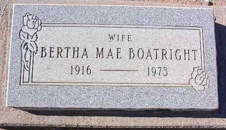 BOATRIGHT, BERTHA MAE - Pinal County, Arizona | BERTHA MAE BOATRIGHT - Arizona Gravestone Photos
