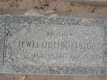 BOATRIGHT, JEWEL - Pinal County, Arizona | JEWEL BOATRIGHT - Arizona Gravestone Photos