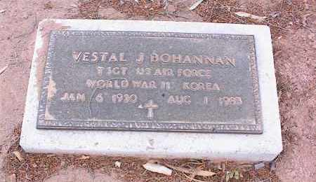 BOHANNAN, VESTAL J. - Pinal County, Arizona | VESTAL J. BOHANNAN - Arizona Gravestone Photos