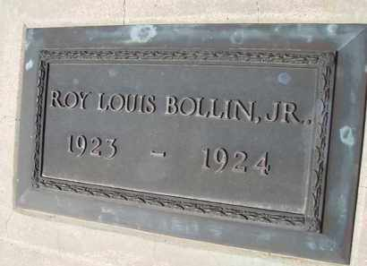 BOLLIN, ROY LOUIS, JR. - Pinal County, Arizona   ROY LOUIS, JR. BOLLIN - Arizona Gravestone Photos