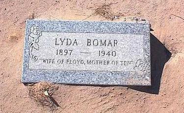 BOMAR, LYDIA - Pinal County, Arizona | LYDIA BOMAR - Arizona Gravestone Photos