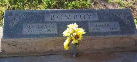 BOMBOY, MARTHA O. - Pinal County, Arizona | MARTHA O. BOMBOY - Arizona Gravestone Photos