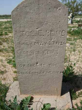 BOND, JOE C. - Pinal County, Arizona | JOE C. BOND - Arizona Gravestone Photos