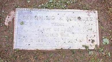 BOSQUEZ, GERONIMO A. - Pinal County, Arizona | GERONIMO A. BOSQUEZ - Arizona Gravestone Photos