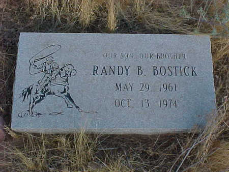 BOSTICK, RANDY B. - Pinal County, Arizona | RANDY B. BOSTICK - Arizona Gravestone Photos