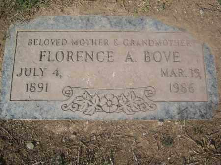 BOVE, FLORENCE A. - Pinal County, Arizona | FLORENCE A. BOVE - Arizona Gravestone Photos