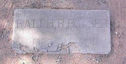 BOWSER, RALPH R. - Pinal County, Arizona   RALPH R. BOWSER - Arizona Gravestone Photos