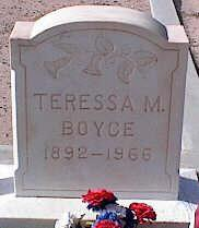 BOYCE, TERESSA M. - Pinal County, Arizona   TERESSA M. BOYCE - Arizona Gravestone Photos