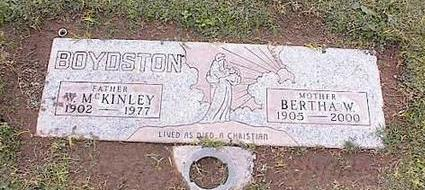 BOYDSTON, W. MCKINLEY - Pinal County, Arizona | W. MCKINLEY BOYDSTON - Arizona Gravestone Photos