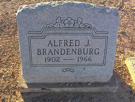 BRANDENBURG, ALFRED J. - Pinal County, Arizona | ALFRED J. BRANDENBURG - Arizona Gravestone Photos