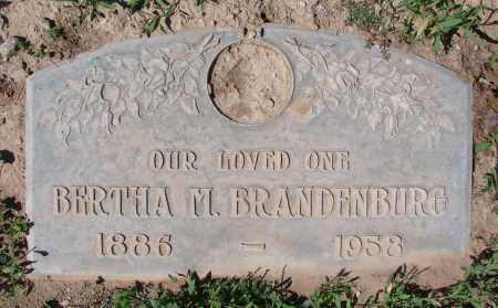 DURNAL BRANDENBURG, BERTHA M. - Pinal County, Arizona | BERTHA M. DURNAL BRANDENBURG - Arizona Gravestone Photos