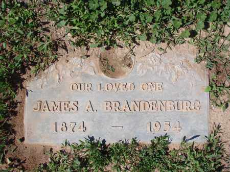 BRANDENBURG, JAMES  A. - Pinal County, Arizona | JAMES  A. BRANDENBURG - Arizona Gravestone Photos