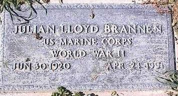 BRANNEN, JULIAN LLOYD - Pinal County, Arizona | JULIAN LLOYD BRANNEN - Arizona Gravestone Photos