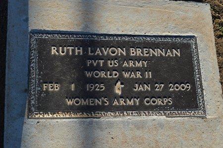 BRENNAN, RUTH LAVON - Pinal County, Arizona   RUTH LAVON BRENNAN - Arizona Gravestone Photos
