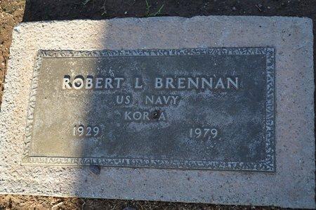 BRENNAN, ROBERT L - Pinal County, Arizona | ROBERT L BRENNAN - Arizona Gravestone Photos