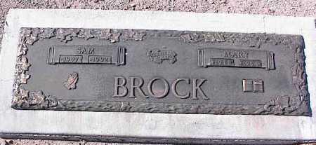 BROCK, MARY - Pinal County, Arizona | MARY BROCK - Arizona Gravestone Photos