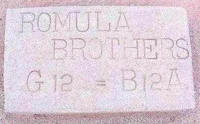 ROMULA, BROTHERS - Pinal County, Arizona | BROTHERS ROMULA - Arizona Gravestone Photos