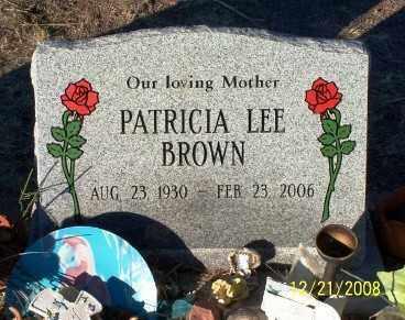 DEAN BROWN, PATRICIA LEE - Pinal County, Arizona | PATRICIA LEE DEAN BROWN - Arizona Gravestone Photos