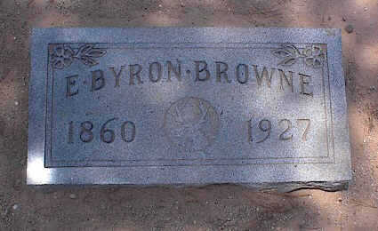 BROWNE, EDWARD BRYON - Pinal County, Arizona   EDWARD BRYON BROWNE - Arizona Gravestone Photos