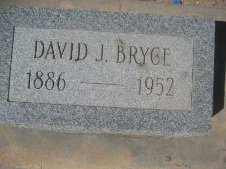 BRYCE, DAVID J. - Pinal County, Arizona | DAVID J. BRYCE - Arizona Gravestone Photos