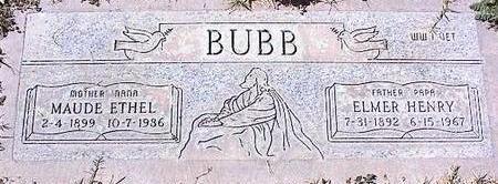 BUBB, ELMER HENRY - Pinal County, Arizona | ELMER HENRY BUBB - Arizona Gravestone Photos
