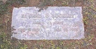 BUCKLEY, EDWARD D. - Pinal County, Arizona | EDWARD D. BUCKLEY - Arizona Gravestone Photos