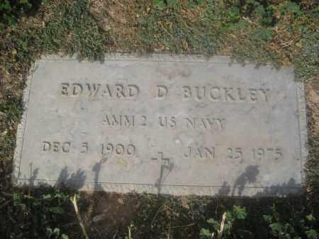 BUCKLEY, EDWARD D. - Pinal County, Arizona   EDWARD D. BUCKLEY - Arizona Gravestone Photos