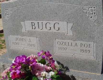 POE BUGG, OZELLA - Pinal County, Arizona | OZELLA POE BUGG - Arizona Gravestone Photos