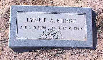 BURGE, LYNNE A. - Pinal County, Arizona   LYNNE A. BURGE - Arizona Gravestone Photos