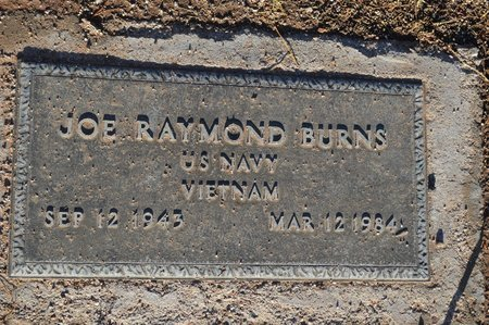 BURNS, JOE RAYMOND - Pinal County, Arizona | JOE RAYMOND BURNS - Arizona Gravestone Photos