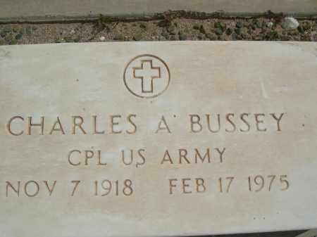 BUSSEY, CHARLES A. - Pinal County, Arizona | CHARLES A. BUSSEY - Arizona Gravestone Photos